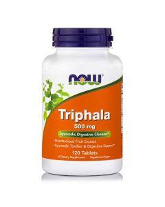 Now Triphala 500 mg Vegeterian 120 caps