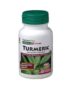 Nature's Plus Turmeric 400 mg 60 veg.caps