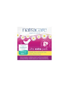Natracare Ultra extra pads 12 normal