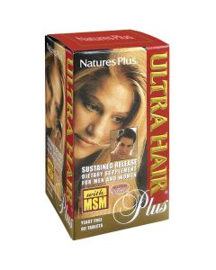 Nature's Plus Ultra Hair Plus Sustained 60 tabs