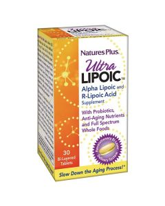 Nature's Plus Ultra Lipoic 30 Bi-layered tabs