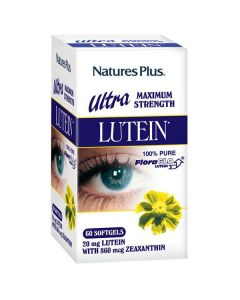 Nature's Plus Ultra Lutein with Zeaxanthin 60 Softgels