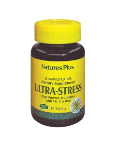 Nature's Plus Ultra Stress with Iron high potency B-Complex sustained release 30 tabs