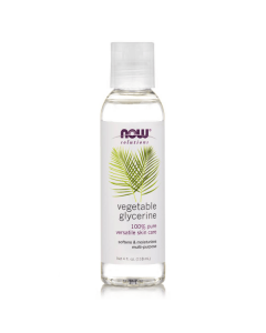 Now Solutions Glycerine Vegetable 118 ml