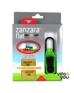 Vican Zanzara Flat Insect repellent keychain