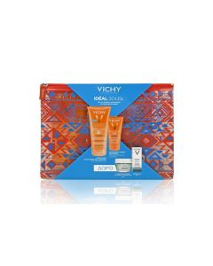 Vichy Ideal Soleil Dry Touch Tinted BB SPF50 50 ml & Wet Skin SPF50 200 ml & Mask Mineral 15 ml & Mineral 89 5 ml