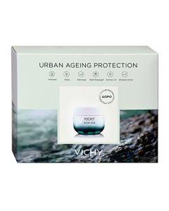 Vichy Slow Age Urban Ageing Protection Cream 50 ml & Mineral 89 5 ml & Glow Peel Mask 15 ml & Slow Age Night 7 x 2 ml