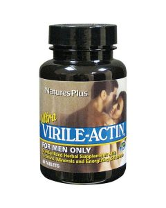 Nature's Plus Ultra Virile-Actin for men 60 tabs