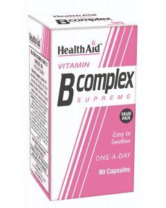 Health Aid Vitamin B Complex Supreme 90 caps