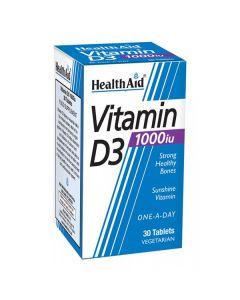 Health Aid Vitamin D3 1000iu 120 tabs