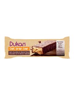 Dukan Chocolate Almond Coated Oat Bran Bars 36 gr