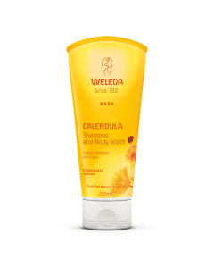 Weleda Baby Calendula Shampoo & Body Wash 200 ml