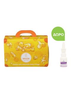 Weleda Baby Care Set Calendula Shampoo Body Wash 200 ml & Nappy Change Cream 75 ml