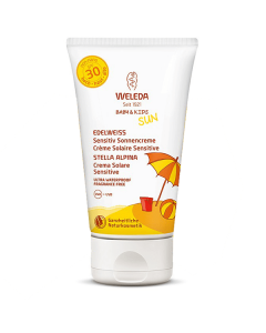 Weleda Sun Edelweiss Baby & Kids Sunscreen Lotion Sensitive SPF30 150 ml