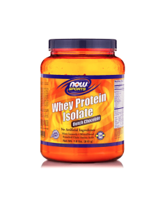Now Sports Whey Protein Isolate Dutch Chocolate 816 gr