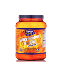 Now Sports Whey Protein Isolate Natural Vanilla 816 gr