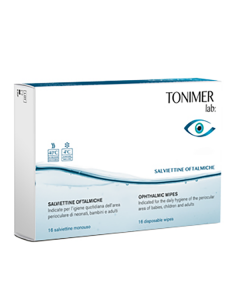 Tonimer Ophthalmic Wipes 16 disp wipes