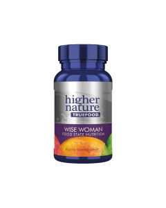 Higher Nature True Food Wise Woman Food State Nutrition 30 caps