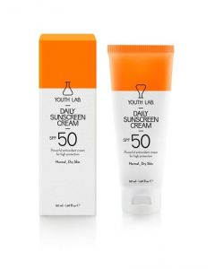 Youth Lab Daily Sunscreen Cream SPF50 Normal to Dry Skin 50 ml