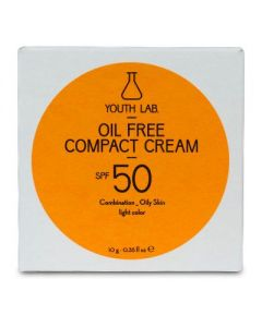 Youth Lab Oil Free Compact Cream SPF 50 Combination to Oily Skin Light Colour 10 gr