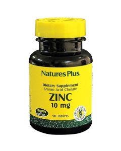 Nature's Plus Zinc 10 mg amino acid chelate 90 tabs