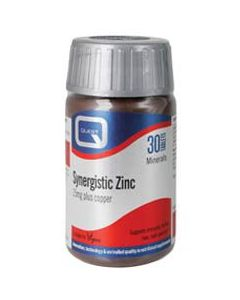Quest Synergistic Zinc 15 mg with copper 90 tabs