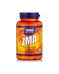 Now Sports ZMA 800 mg  Zinc Mangesium B6 90 caps