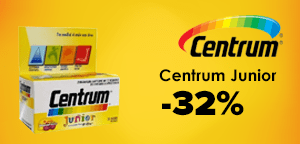 Centrum Junior 30 chewable tabs